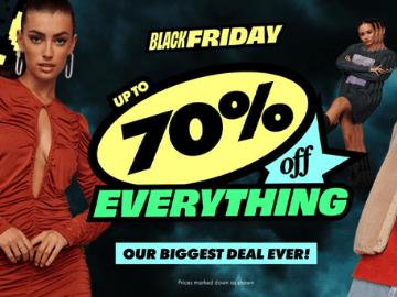 Black Friday: optill 70% rabatt hos asos