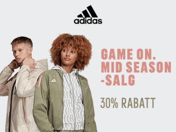 Eksklusiv 30% adidas rabattkode